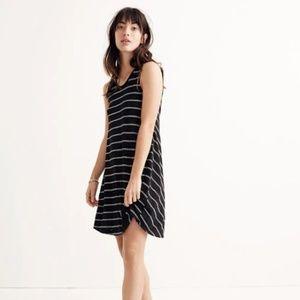 Madewell Highpoint Tank Dress in Hosta Stripe